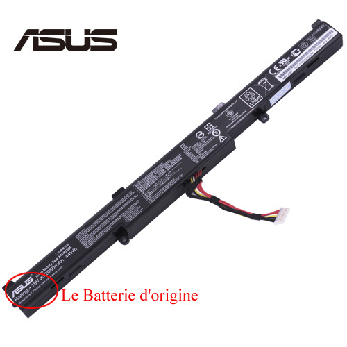 Batterie ordinateur Asus ROG GL752VW