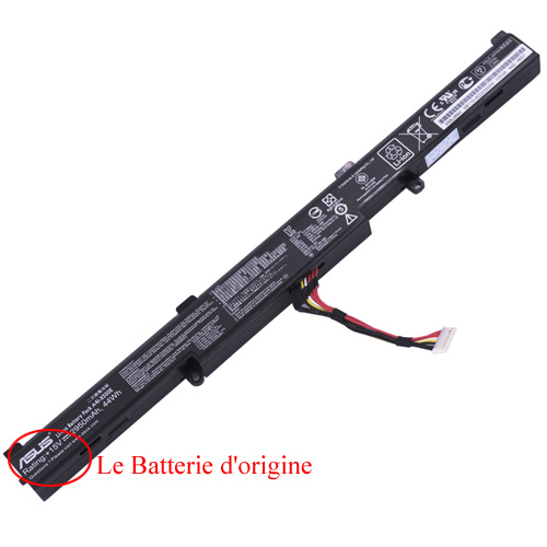 Batterie ordinateur Asus R752